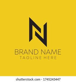 n letter real estate logo design. n letter logo design vector.