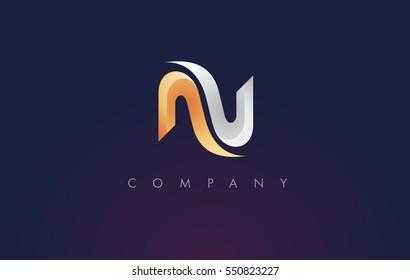 N Logo.N Letter Icon Design Vector Illustration.