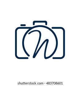 N photography logo design
