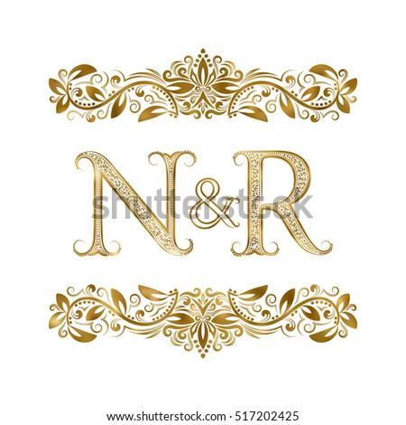 N r vintage initials logo symbol stock vector royalty free n r vintage initials logo symbol stock vector royalty free 517202425 shutterstock altavistaventures Gallery