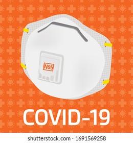 N95 mask against coronavirus and cov-19