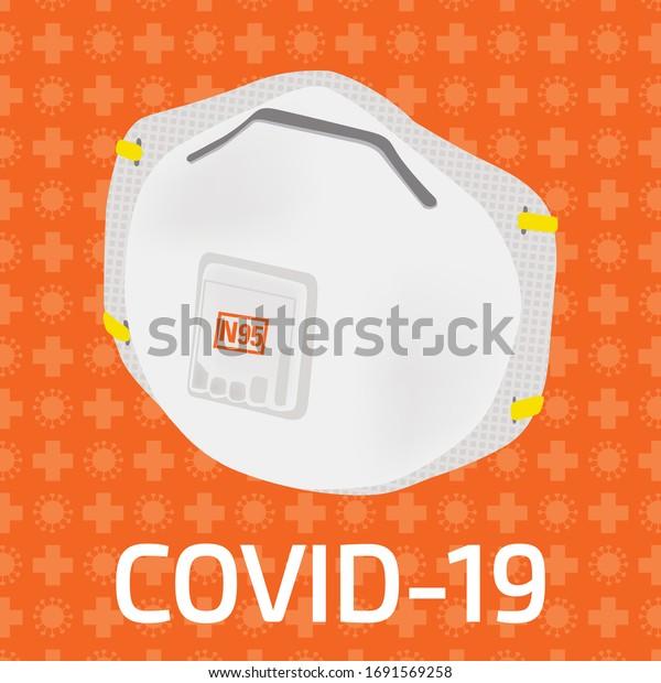 Masque N95 contre coronavirus et cov-19