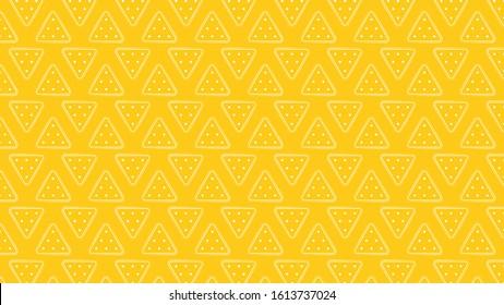 Nacho vector. Nacho pattern wallpaper.