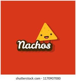 Nachos Logo Vector Illustration