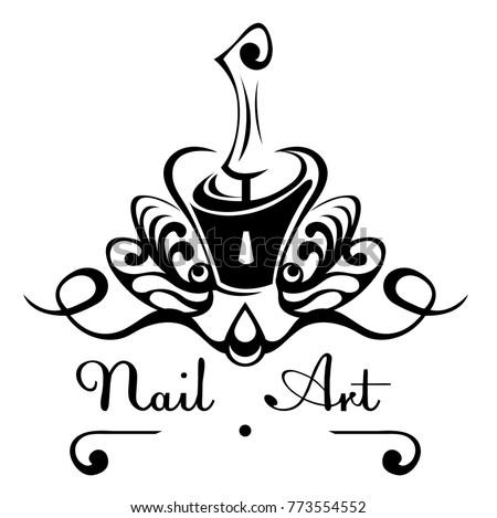 Nail Art Vector