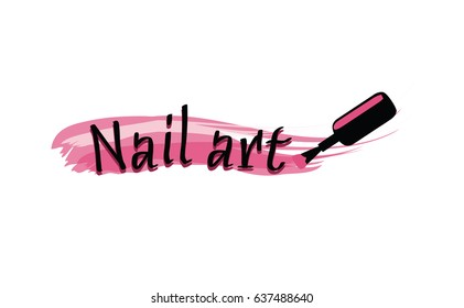 Nails Logo Images Stock Photos Vectors Shutterstock