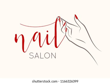 Nail Salon Logo Images Stock Photos Vectors Shutterstock