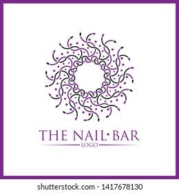 Logo Nail Bar Images, Stock Photos & Vectors | Shutterstock