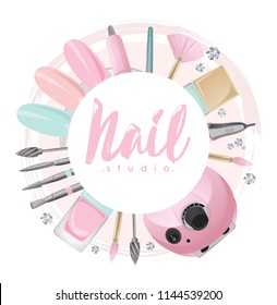 Nail studio logo