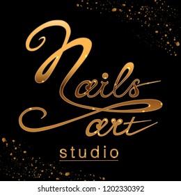 Im genes fotos de stock y vectores sobre nail salon logo for Uniform spa vector