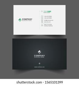 Name Business Card minimalist template