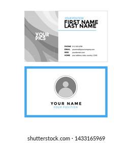 name card vector graphic design