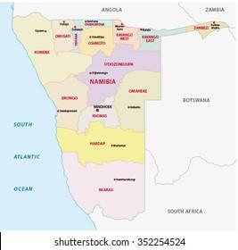 Botswana Region Map Images Stock Photos Vectors Shutterstock