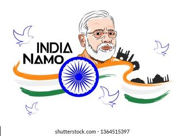 Namo India Narendra Modi