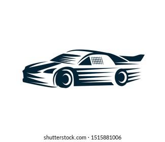 Nascar the Racing Car Illustration