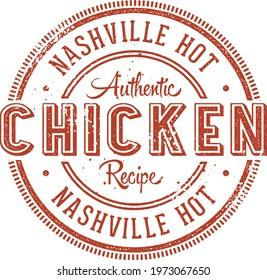 Nashville Hot Fried Chicken Stamp