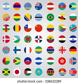 Nation flag.
