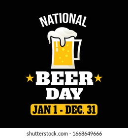 National Beer Day Images Stock Photos Vectors Shutterstock