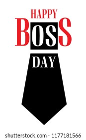 National Boss Day concept background. Cartoon illustration of national Boss Day vector concept background for web design