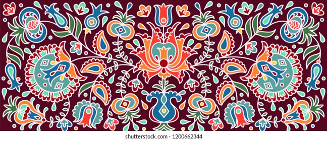 National crimean tatar pattern
