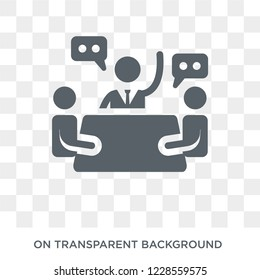 National Economic Council icon. Trendy flat vector National Economic Council icon on transparent background from Business  collection.