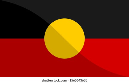 the national flag of australian aboriginal