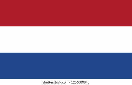 National flag of the country of Netherlands