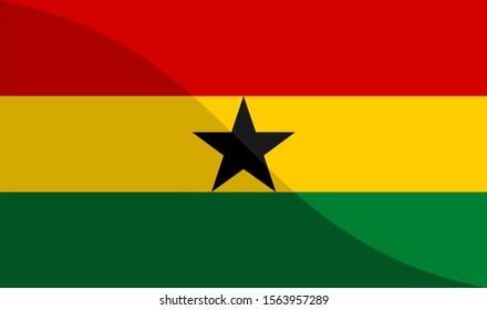 the national flag of ghana