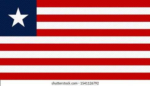 the national flag of liberia
