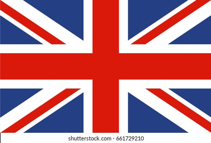 National Flag of United Kingdom.