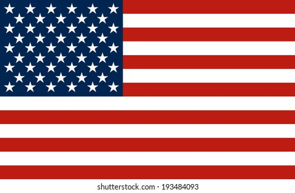 The national flag of the United States of America (The Stars and Stripes, Old Glory)