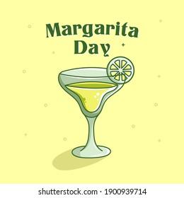 National Margarita day illustration doodle art