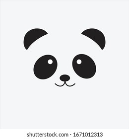 National Panda Day. Can be used for banner, poster, flyer etc. Flat vector illustration of panda