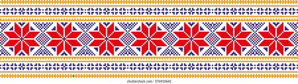 National pixel pattern