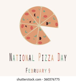 National Pizza Day Funny Unofficial Holiday Collection - 127