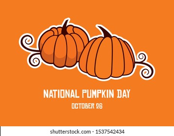National Pumpkin Day Images Stock Photos Vectors Shutterstock