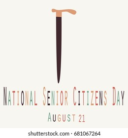 National Senior Citizens Day - Funny Unofficial Holiday Collection August