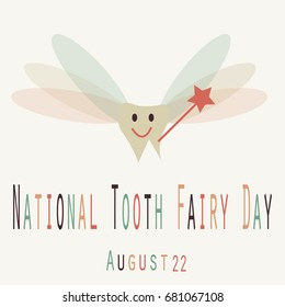 National Tooth Fairy Day- Funny Unofficial Holiday Collection August