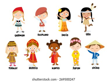 nationalities for children