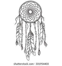 Native American Indian dream-catcher
