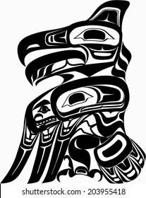 Native art - Eagle