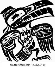 Native art - Raven