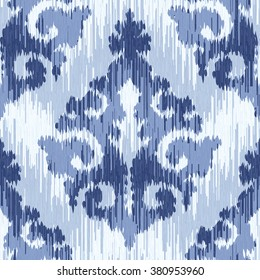 Native cloth damask pattern seamless vector background tile