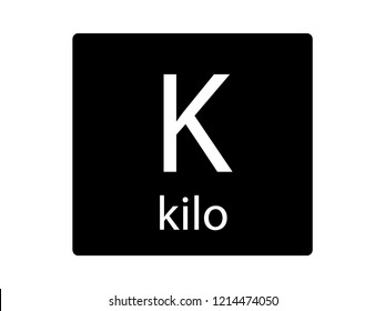 NATO Army Phonetic Alphabet Letter Kilo