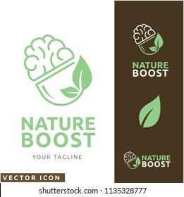 Natural brain pill Logo/Icon