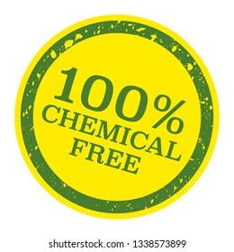 Natural, chemical free sign