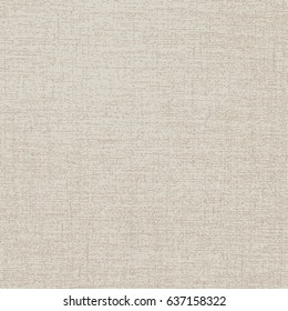 Natural Color Canvas Square Texture Template Realistic Vector Wallpaper - Brown Elements on Beige Background - Flat Graphic Design