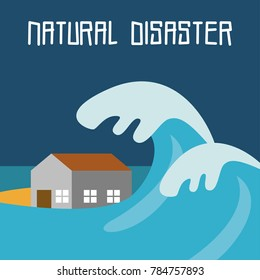 Natural Disaster Illustration Vector