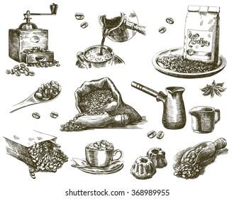 natural grain coffee