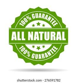 Natural guarantee icon